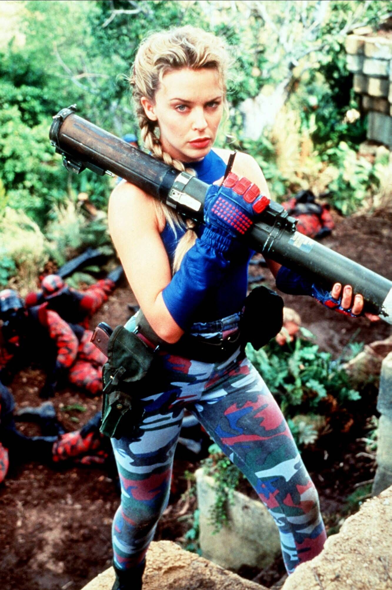 Kylie Minogue Characters: Lieutenant Cammy Film: Street Fighter (1993) Director: Steven E. De Souza 23 December 1994 STR