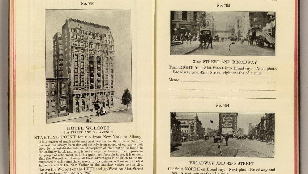 Street View 1907: Tollkühne Fahrten mit Bilderbüchern