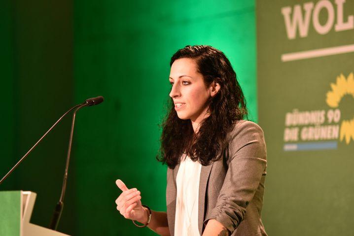Vanessa Gronemann, Studentin, holt in ein Direktmandat in Kassel
