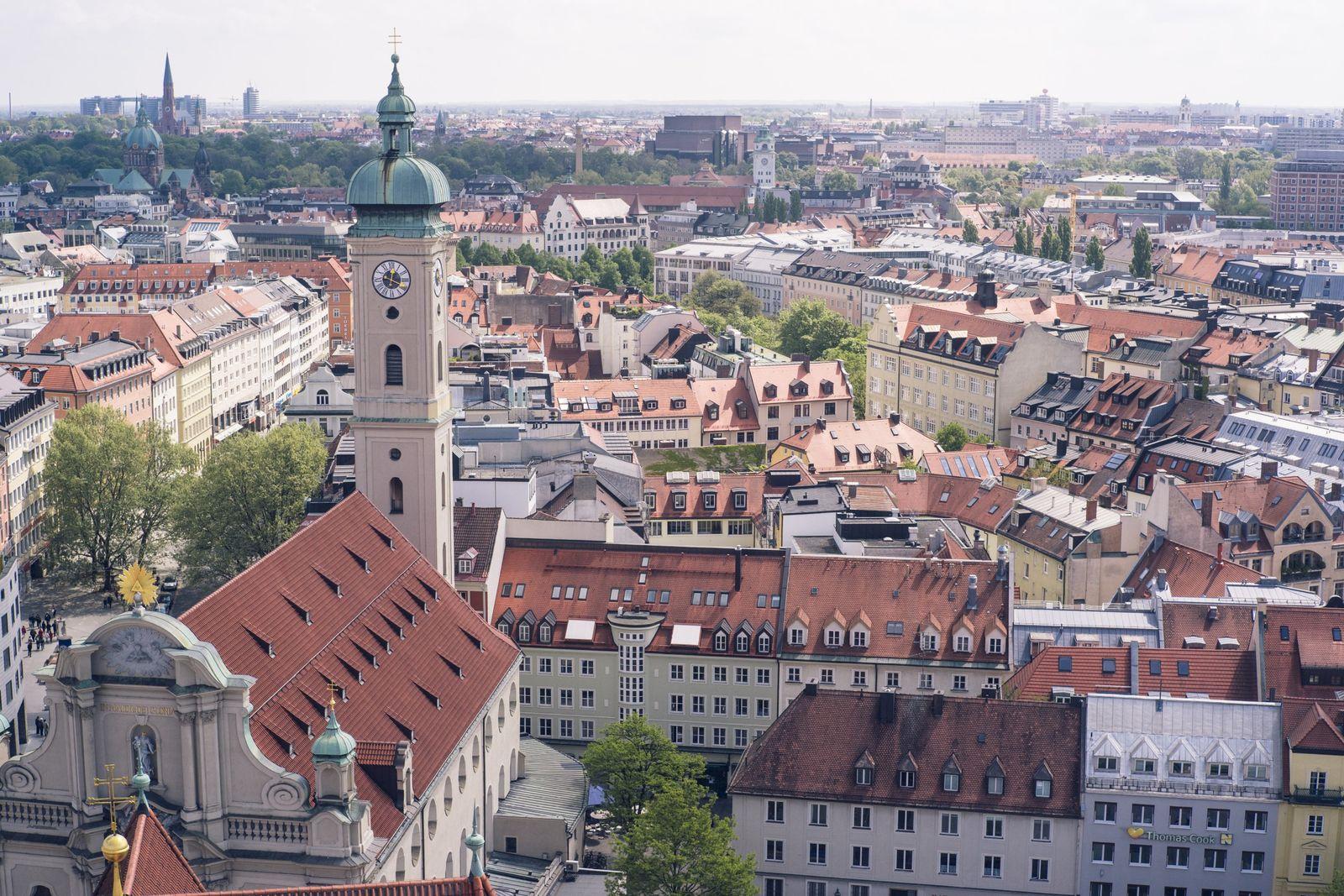 NICHT MEHR VERWENDEN! - München / Immobilien / Stadtansichten