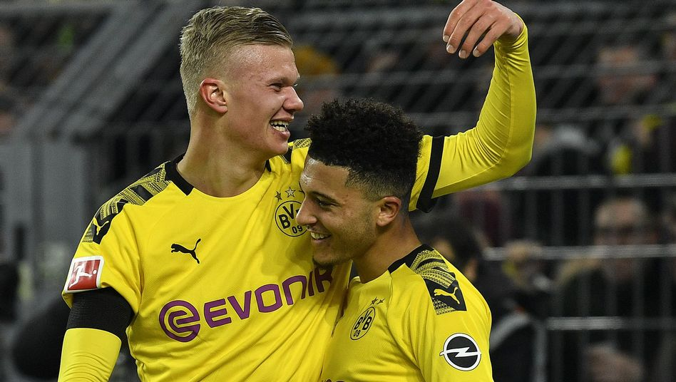 Erling Haaland und Jadon Sancho: Dortmunds Super-Teenager