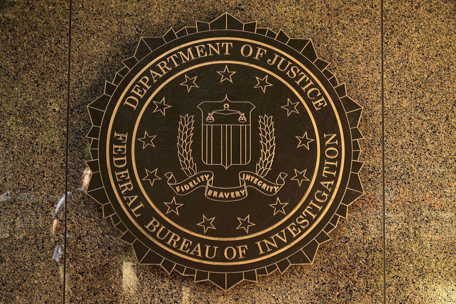 Hackerangriff/ FBI/ Emblem
