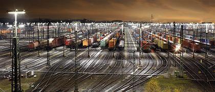 """Güterbahnhof Hamburg-Maschen: """"Wir setzen auf Druck"""""""