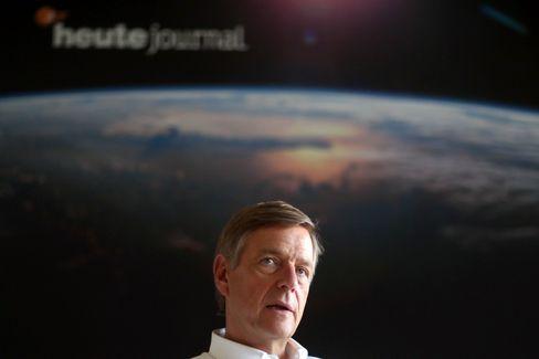 »heute-journal«-Moderator Claus Kleber