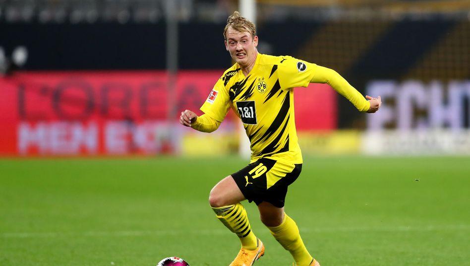 Julian Brandt hat einen der besten ersten Ballkontakte in der Bundesliga