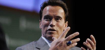 """Gouverneur Schwarzenegger: """"Kalifornien ist noch nicht aus dem Schneider"""""""