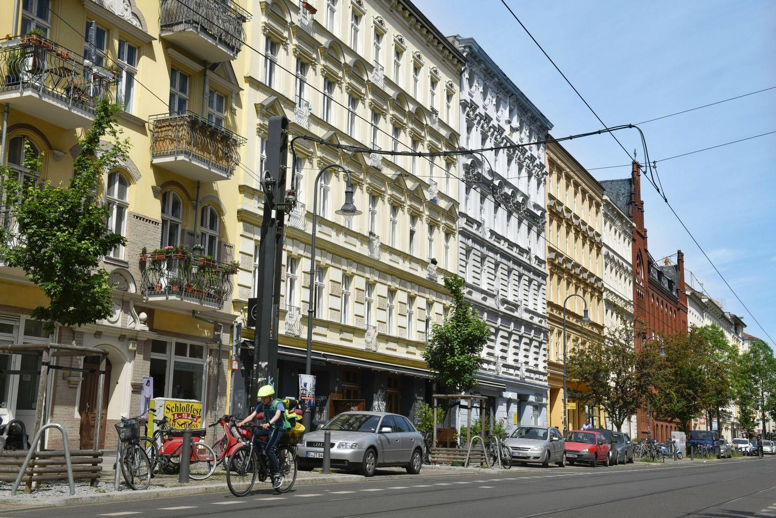 EINMALIGE VERWENDUNG Berlin / Pankow / Immobilien / Wohnhäuser / Miethäuser
