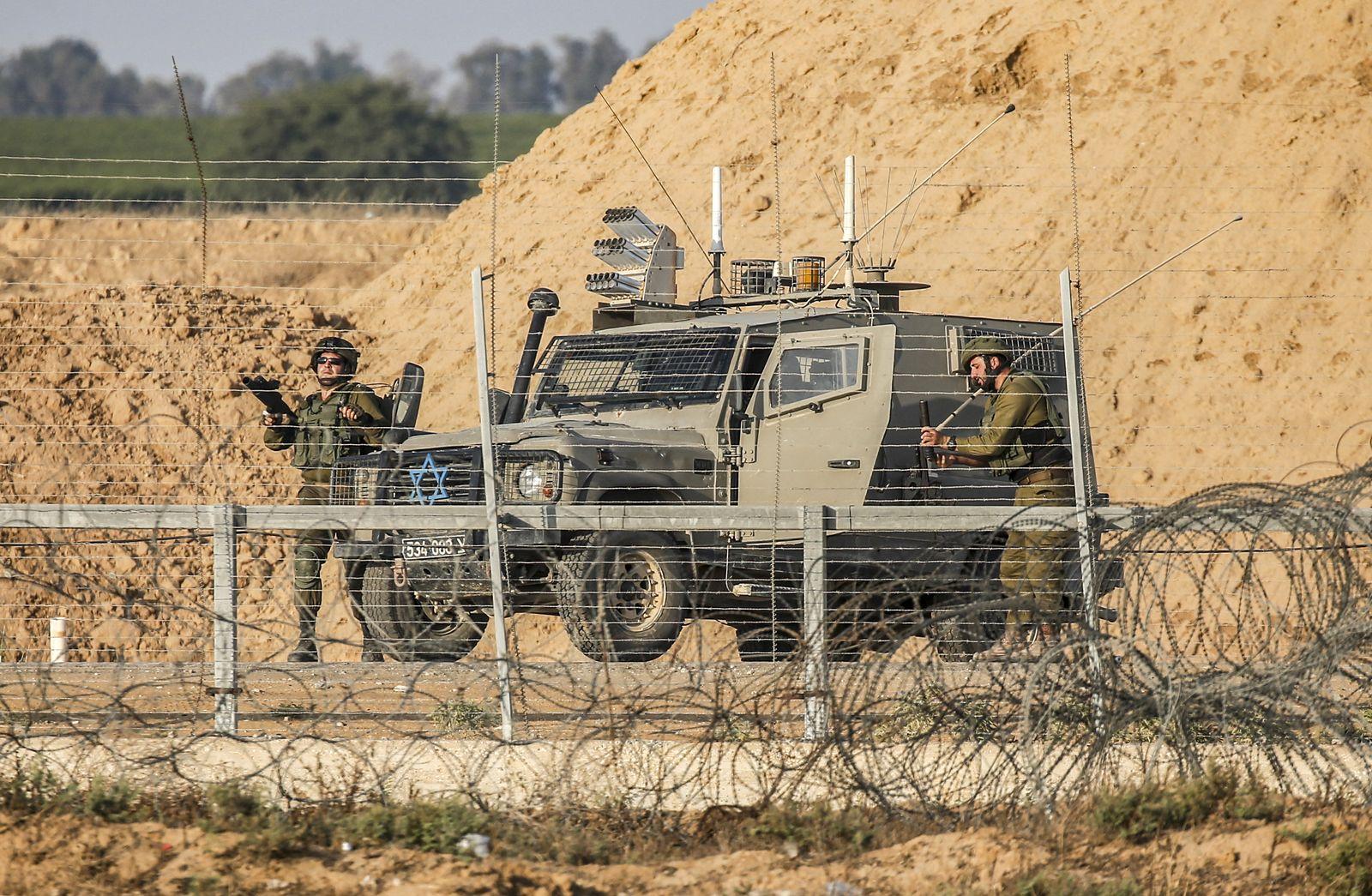 Israelische Soldaten/ Gazastreifen