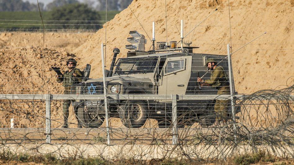 Israelische Soldaten haben im Gazastreifen vier militante Palästinenser erschossen