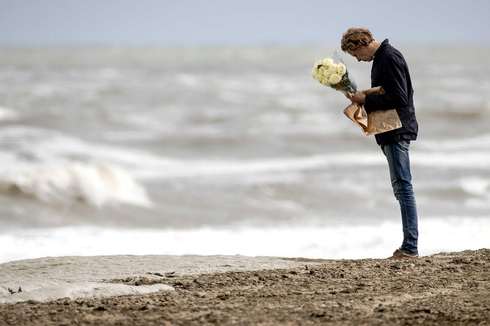 Scheveningen is mourning, Netherlands - 12 May 2020