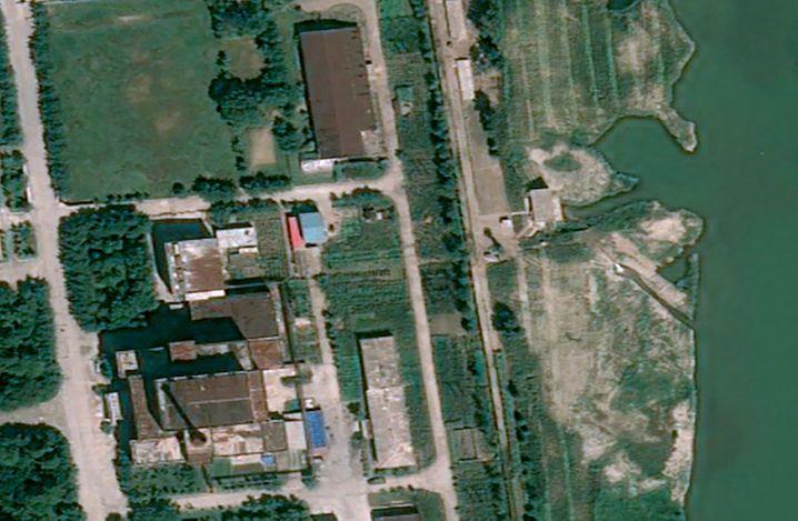 Der Fünf-Megawatt-Reaktor in Yongbyon