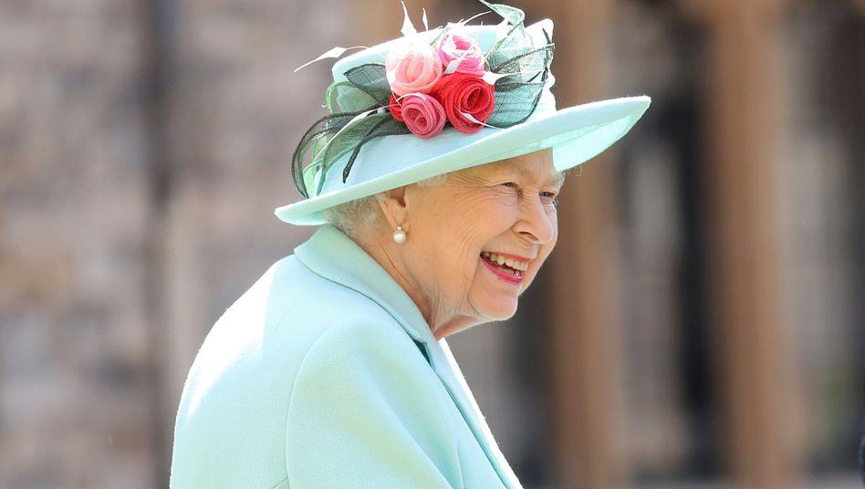 Hat gut Lachen, denn noch zahlt Brüssel die Subventionen an ihr Königreich: Queen Elizabeth II.