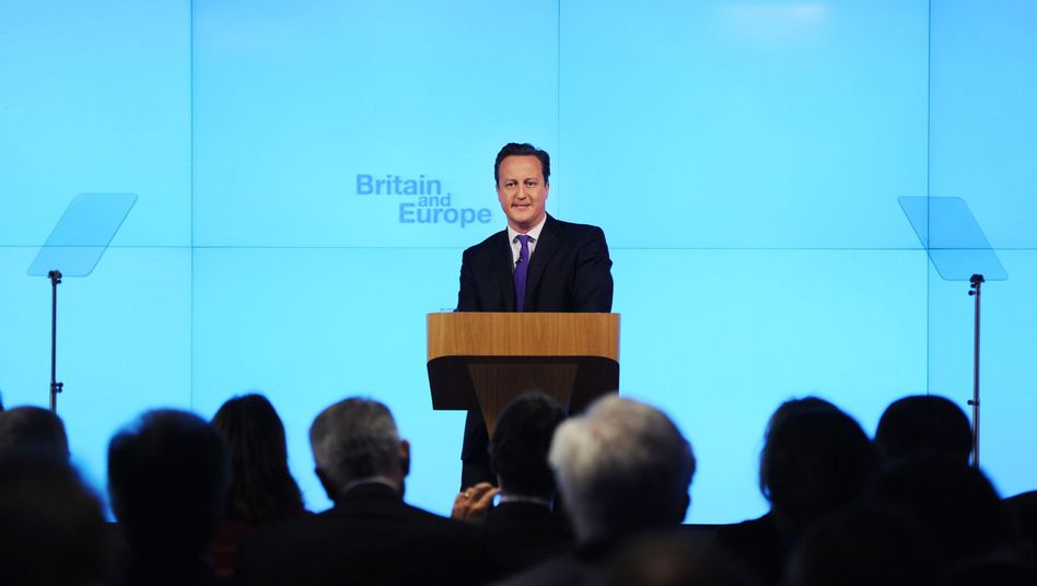 In or out? David Cameron plans to give the British a choice on EU membership.