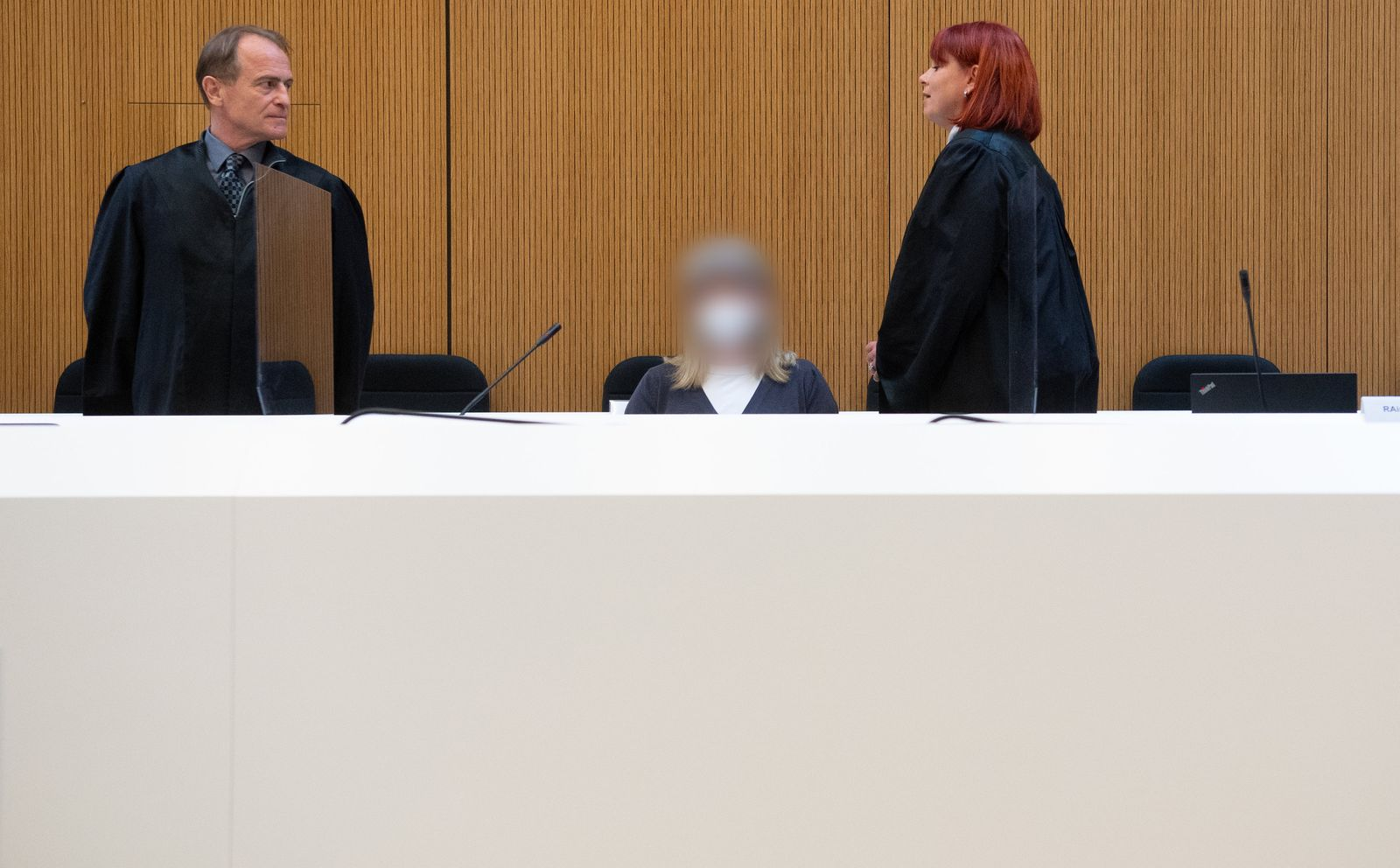 Prozess gegen mutmaßliche rechte Terroristin