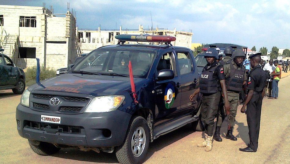 Die nigerianische Polizei im Einsatz (Archivbild)