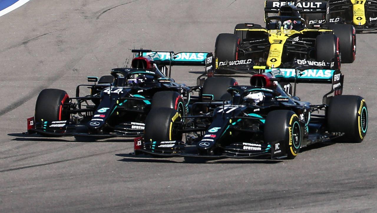 Hamiltons Rekordsieg  DER Mirror: Bottas verhindern Hamiltons Rekordsieg - DER SPIEGEL...