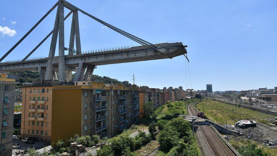 Morandi-Autobahnbrücke (Archiv)