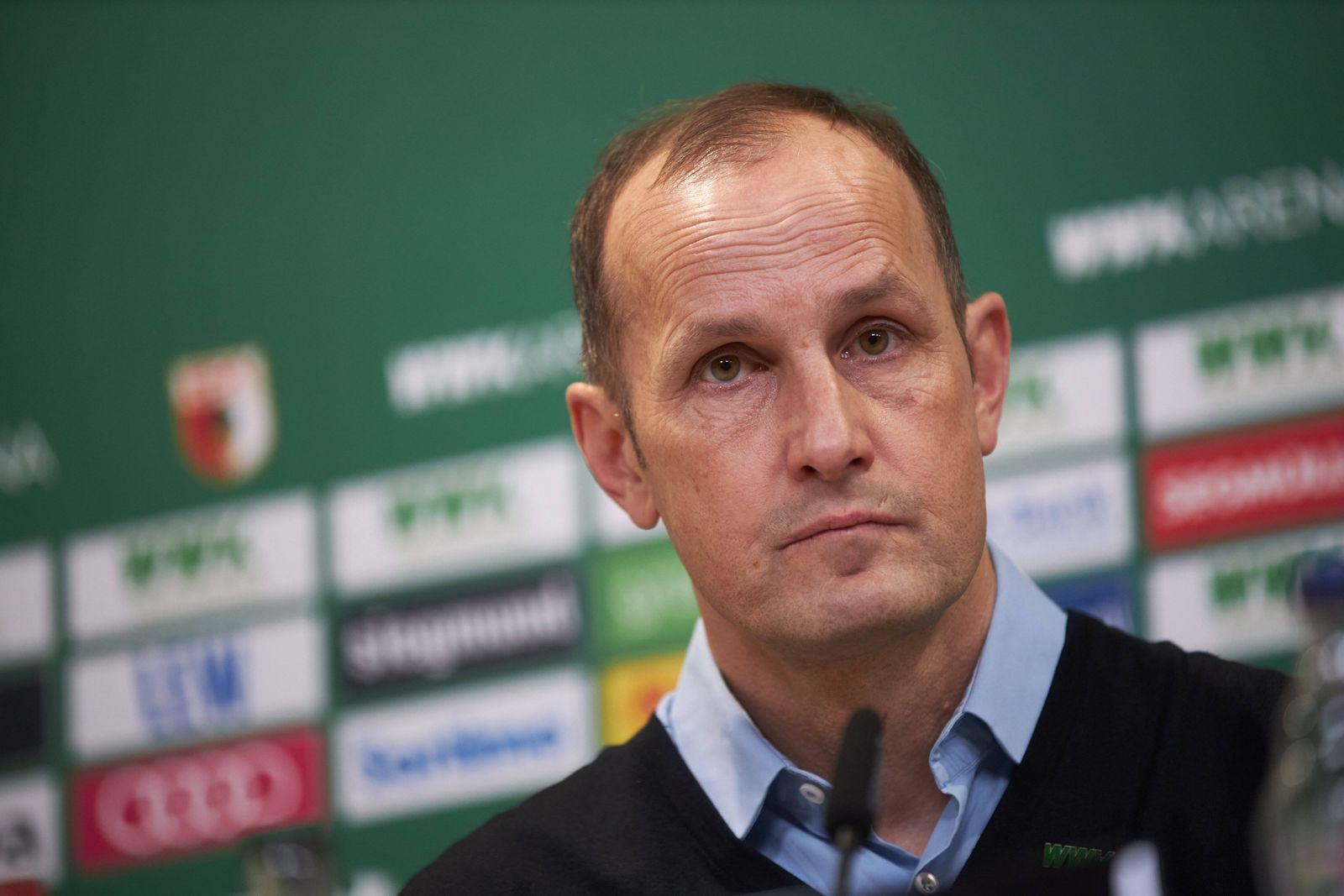 FC Augsburg stellt Heiko Herrlich als neuen Trainer vor, *** FC Augsburg introduces Heiko Herrlich as new coach,
