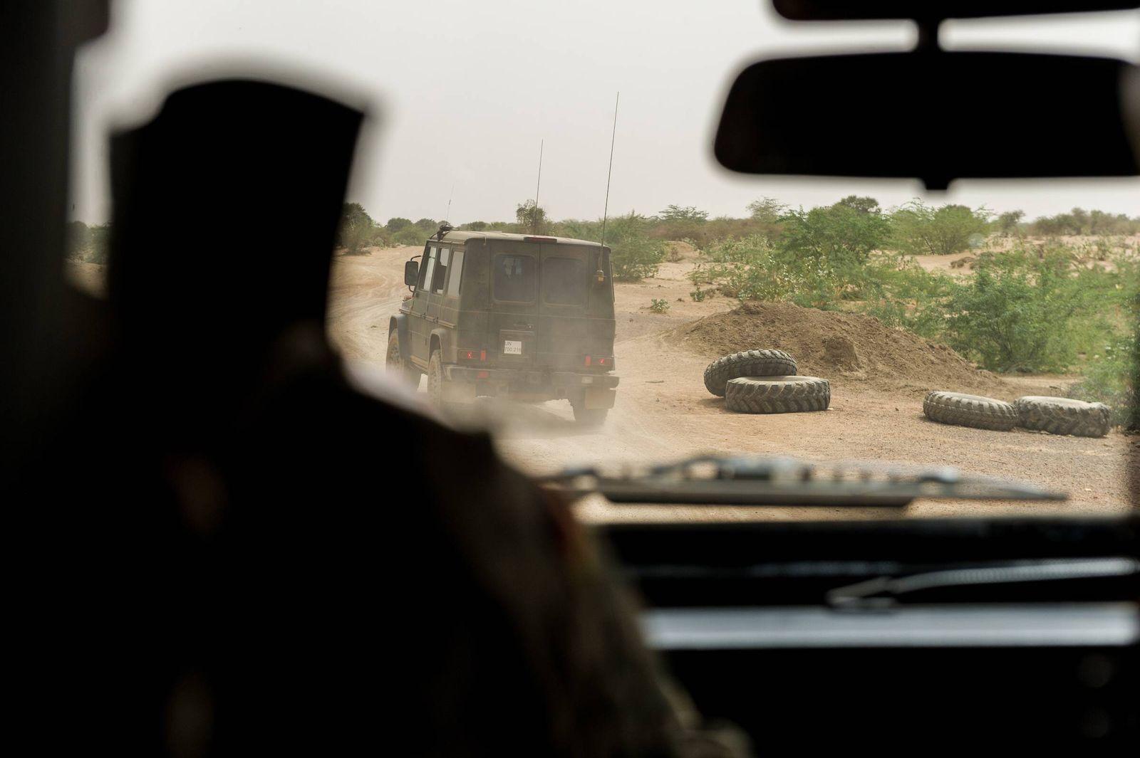 EINMALIGE VERWENDUNG Mali/ Bundeswehr