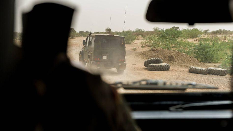 Bundeswehr-Soldaten in Mali