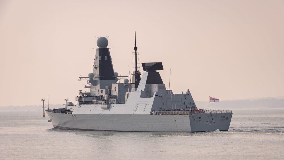 Das britische Kriegsschiff »HMS Defender« (Archivaufnahme)