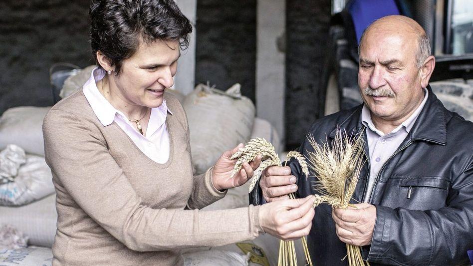GIZ-Chefin Gönner in Georgien »Bekennende Landpomeranze«