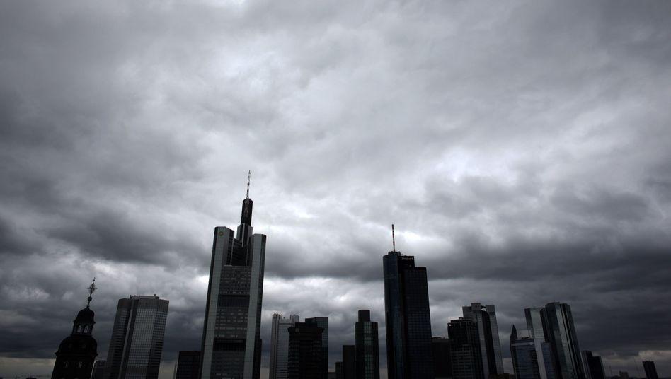 Frankfurter Bankenviertel: Teure Zeiten für die Finanzindustrie
