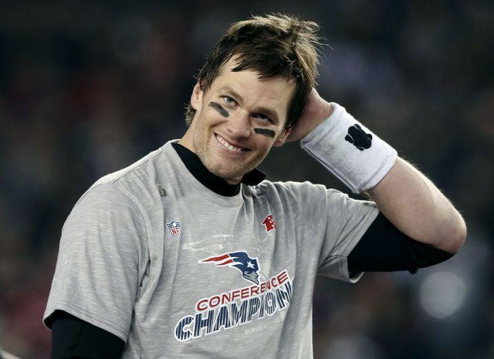 Patriots-Quarterback Tom Brady nach dem Sieg über die Jaguars