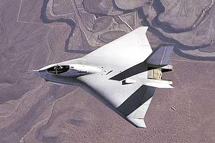 Gescheitert: Der JSF-Entwurf von Boeing