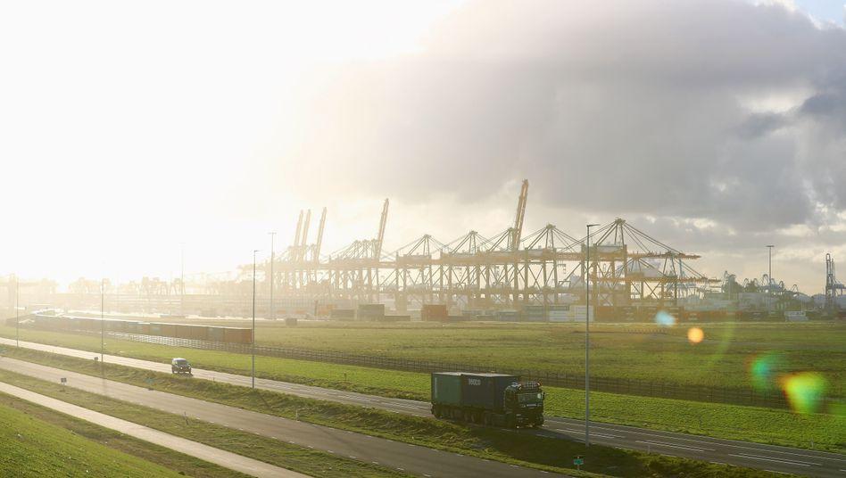 Hafen von Rotterdam: Hoffnung auf EU-Subventionen für CO2-Speicheranlage