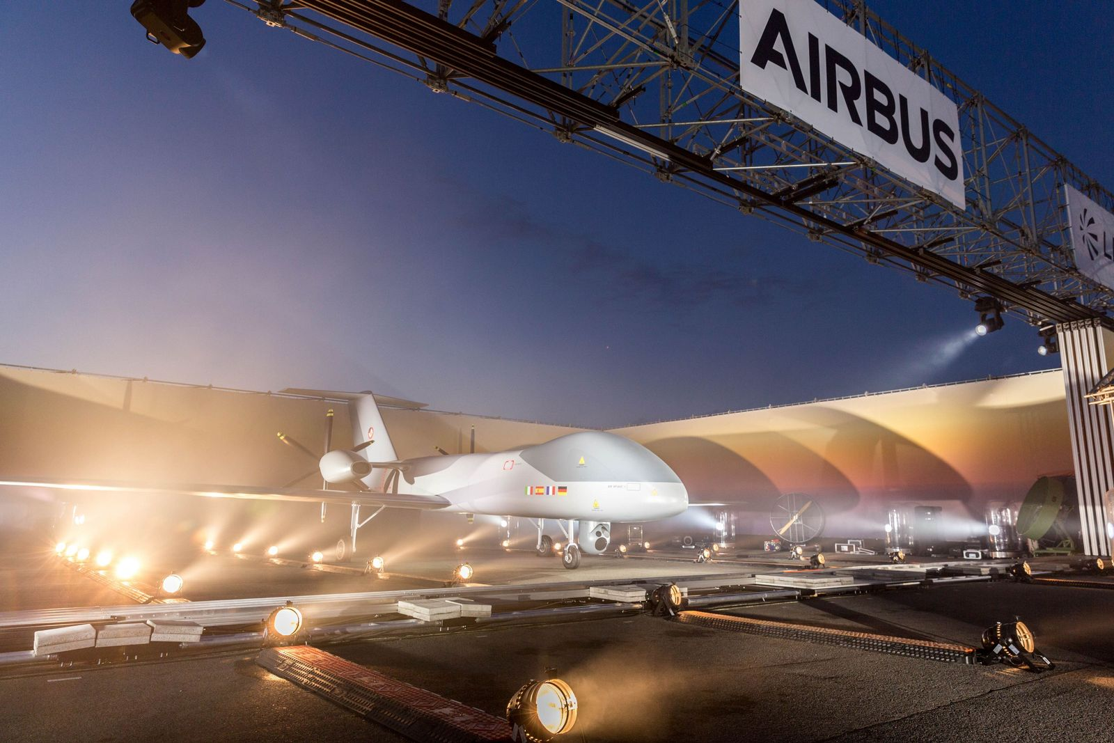 EINMALIGE VERWENDUNG Airbus/ Euromale/ Euro-Drohne