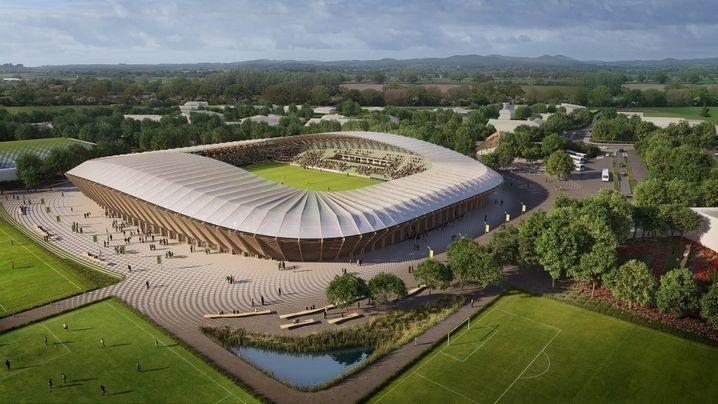 Das umweltfreundlichste Stadion der Welt