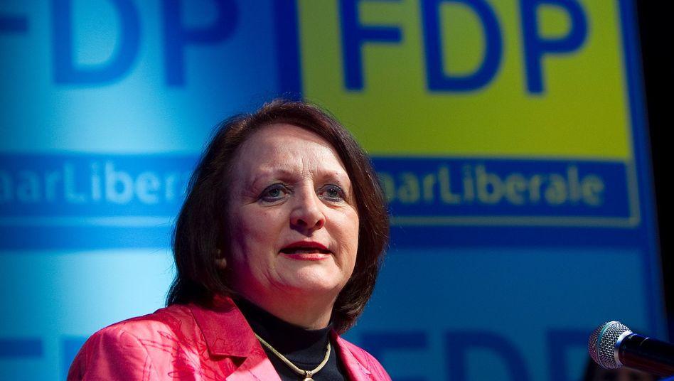 Leutheusser-Schnarrenberger (März 2012): Vehement gegen Massenüberwachung