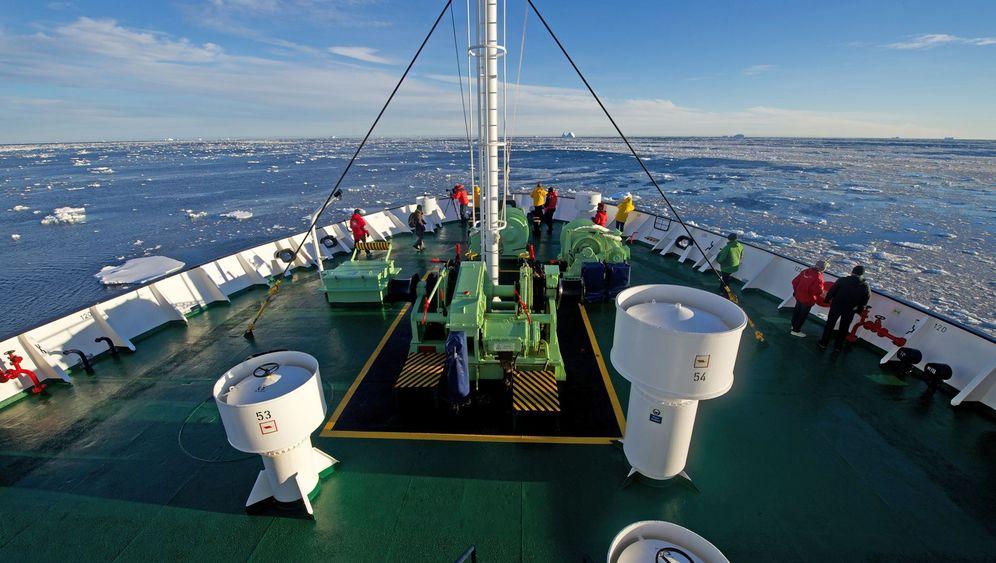 Antarktis-Kreuzfahrt: Zum Tee bei Shackleton