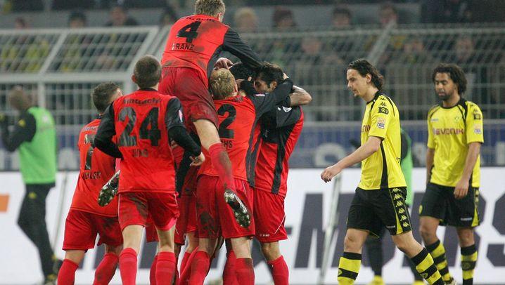 Eintracht Frankfurt: Auf dem Weg nach oben