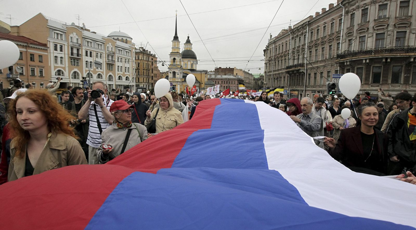 Russland / Proteste