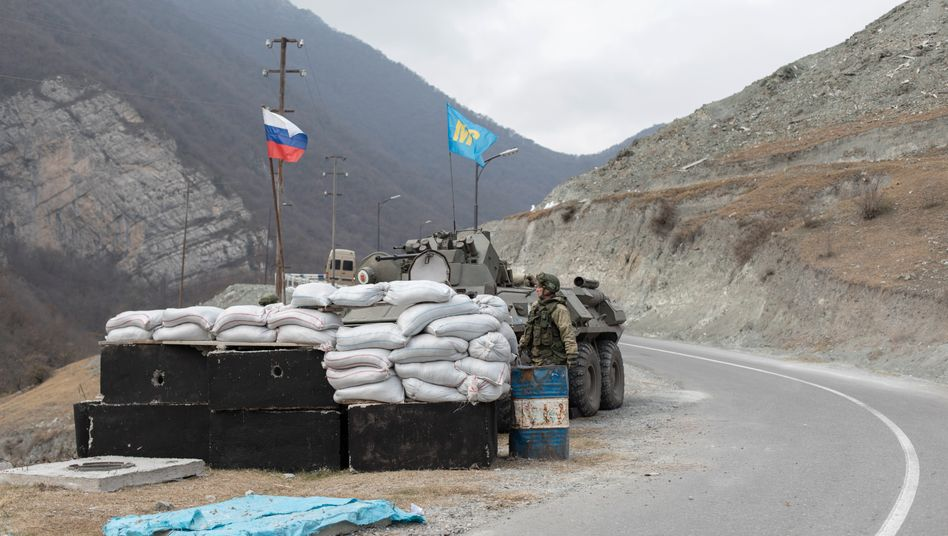 Peacekeeping troops in Dadivank