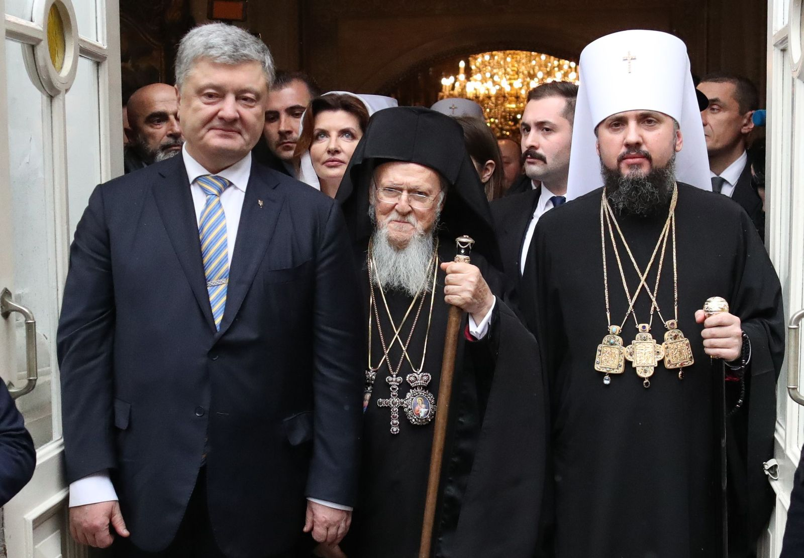 Ukraine/ Wahlen/ Poroschenko / Bartholomäus I/Epiphanius