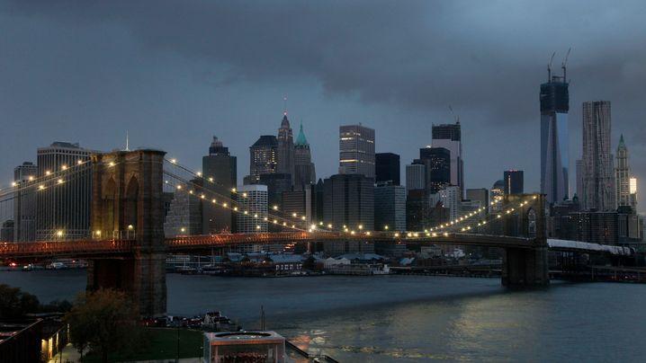 """Wirbelsturm: """"Sandy"""" sorgt für Chaos"""