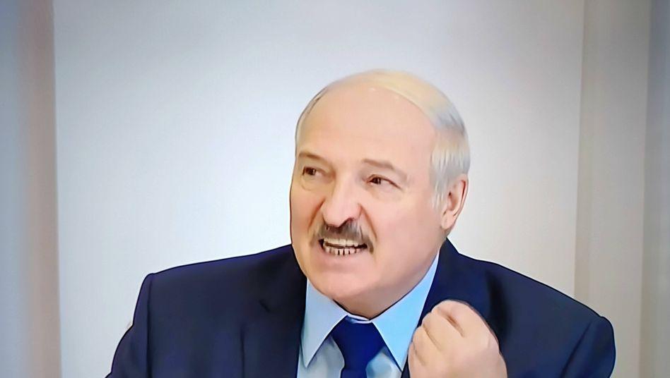 Alexander Lukaschenko gilt als letzter Diktator Europas
