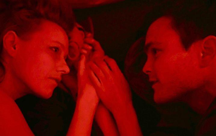 """Eric Klotzsch und Lana Cooper in """"Liebesfilm"""""""