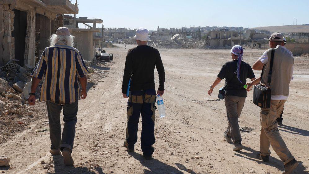 Fotostrecke: Wiederaufbau von Kobane