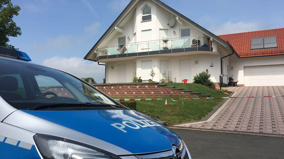 Haus des erschossenen CDU-Politikers Walter Lübcke im nordhessischen Ort Istha