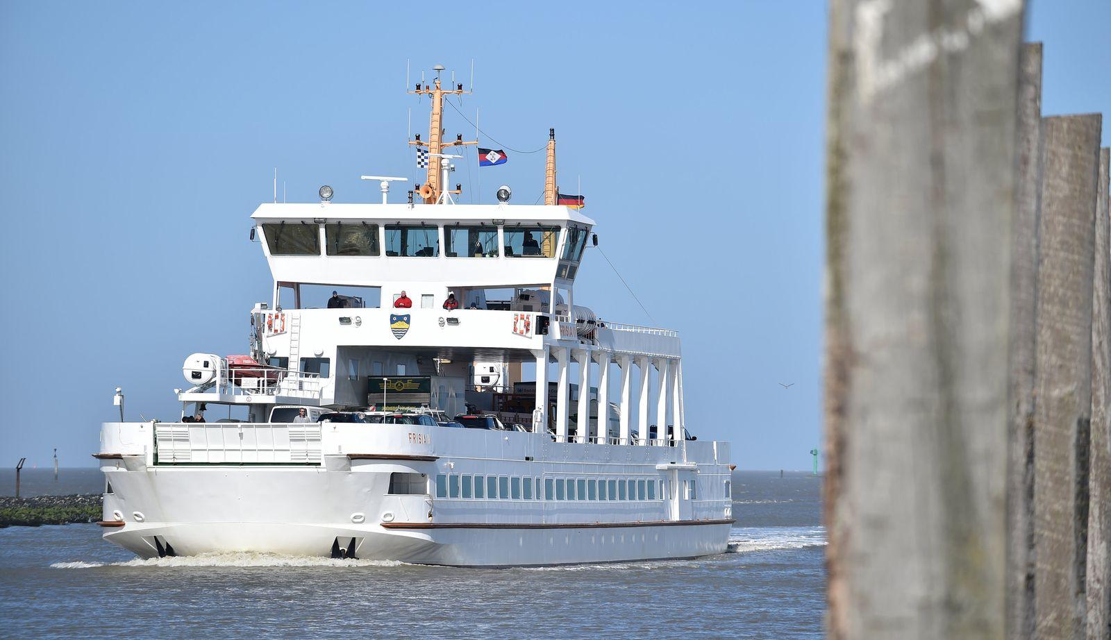 Übermorgen/ Juist/ MS Frisia II