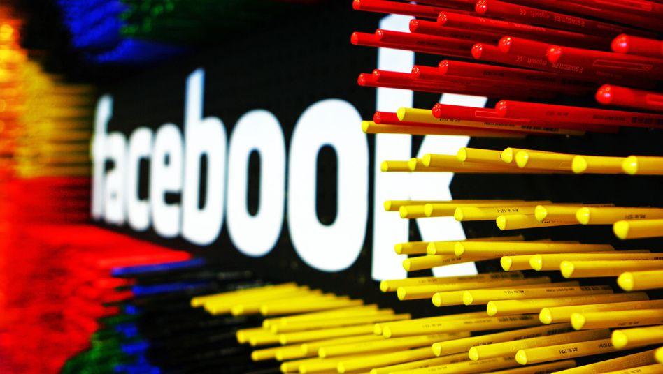 Facebook-Logo: Wissen, was die Mitglieder auf der Website machen