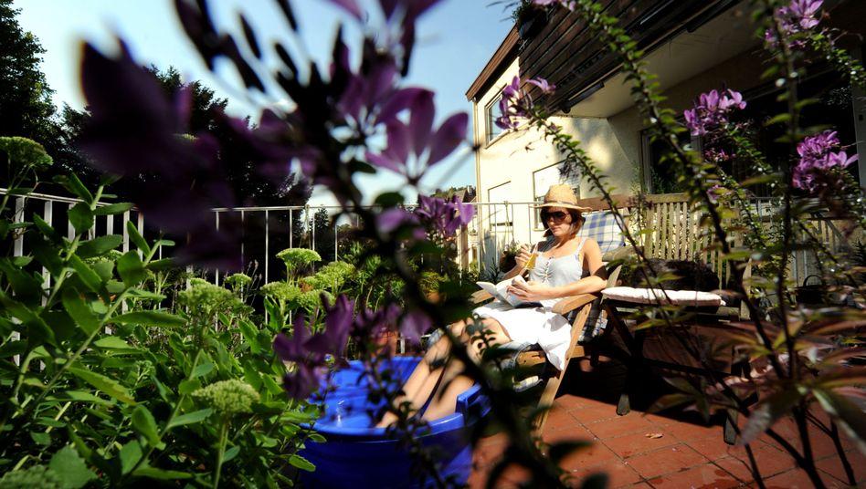 Urlaub auf Balkonien: Die meisten Deutschen wollen das Land für die Ferien in diesem Jahr nicht verlassen