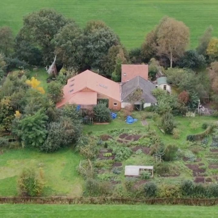 Das Bauernhaus in Ruinerwold, Niederlande