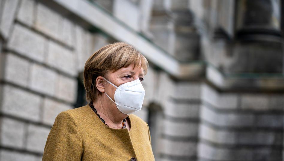 Kanzlerin Merkel (Archivaufnahme)