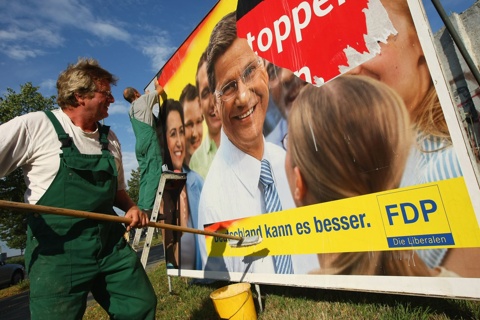 Wahlplakat / Wahlkampf