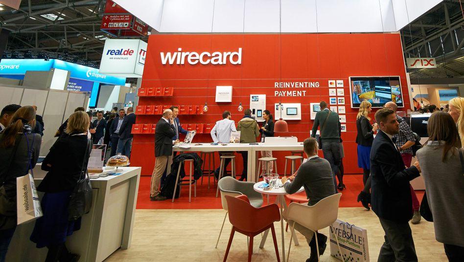 Wirecard Messestand (Archiv)
